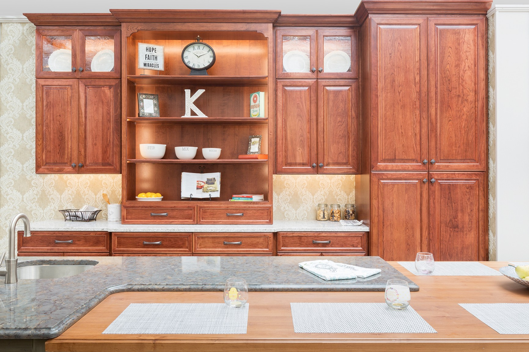 Wood Hollow Cherry Kitchens 1 Wood Hollow Cabinets