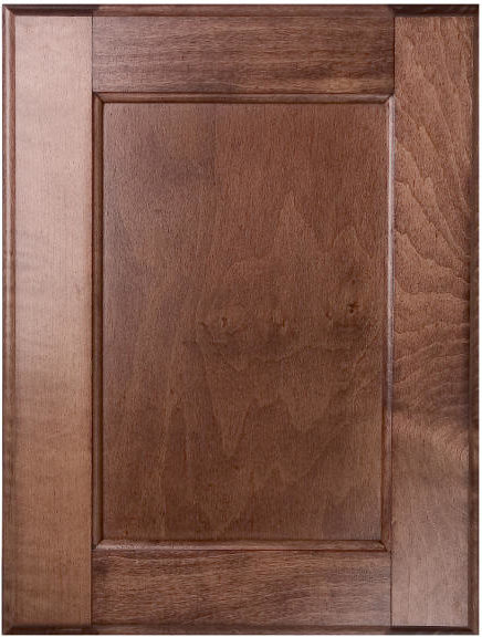 Early American Stain Kitchen Cabinets