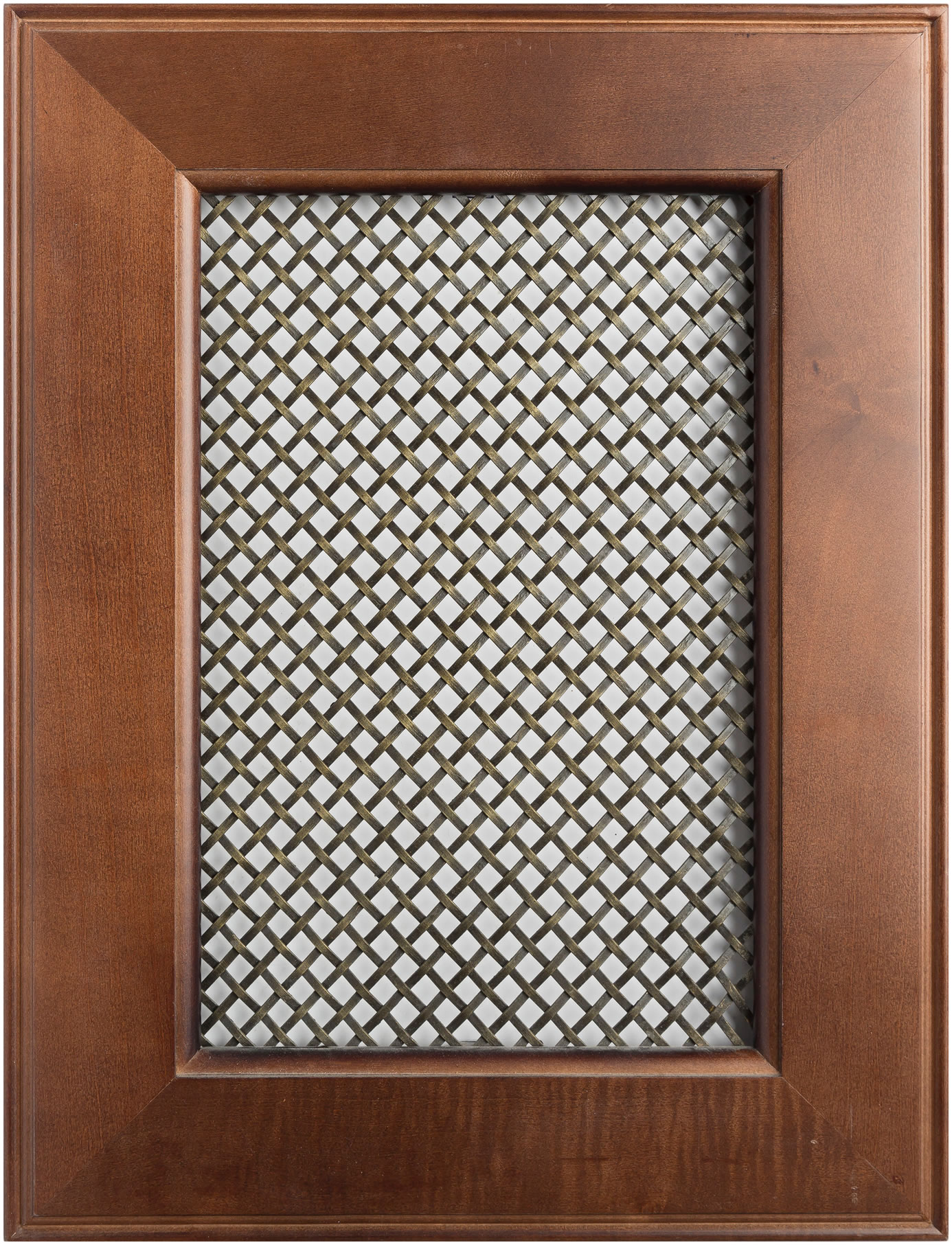 Wire Mesh - Wood Hollow Cabinets