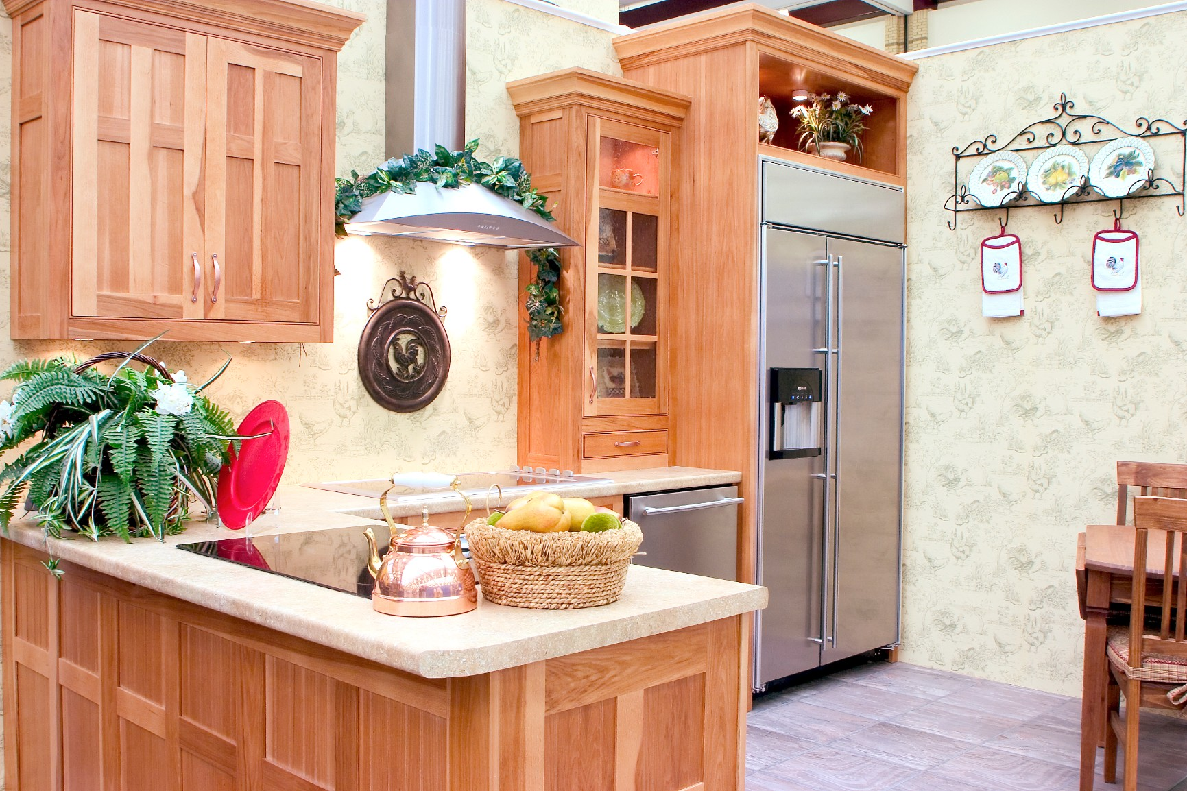hickory wood kitchen cabinets hickory kitchens wood hollow cabinets 16286